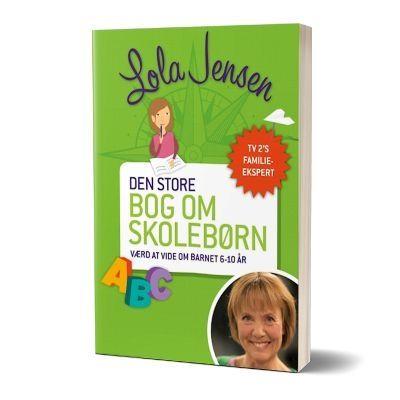 'Den store bog om skolebørn' af Lola Jensen