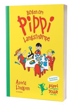 Astrid Lindgrens bog 'Bogen om Pippi Lanstrømpe'