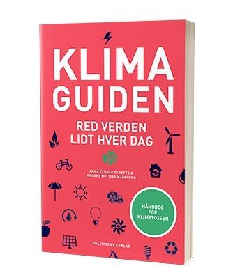 'Klimaguiden - red verden lidt hver dag' af Anders Nolting Magelund og Anna Fenger Schefte