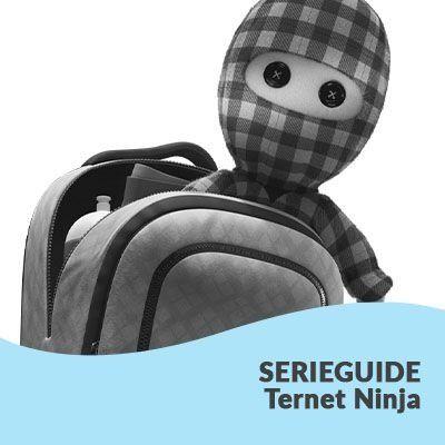 Se vores serieguide til Ternet Ninja-bøgerne - Saxo