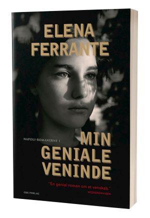 Bogen 'Min geniale veninde' af Elena Ferrante