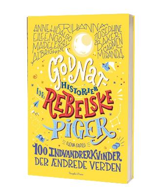 Bogen 'Godnathistorier for rebelske piger indvandrekvinder'