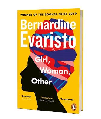 Bogen 'Girl, Women, Other' af Bernardine Evaristo