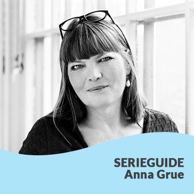 Anna Grues serieguide til hendes populære bøger