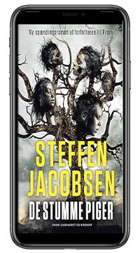 Bogen 'De stumme piger' af Steffen Jacobsen